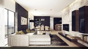 أناقة البساطة في غرف معيشة مودرن بديكورات رائعة