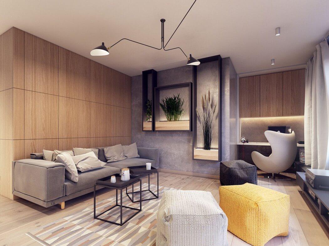 غرفة معيشة مودرن 12 أفكار رائعة وديكورات مبتكرة في منزل مودرن متميز