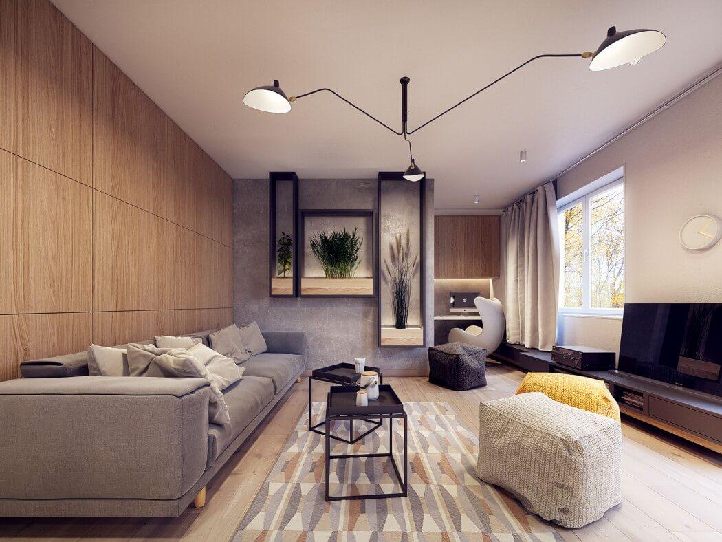 غرفة معيشة مودرن 22 أفكار رائعة وديكورات مبتكرة في منزل مودرن متميز
