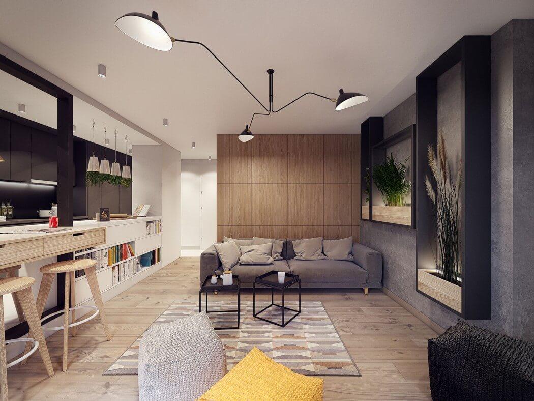 غرفة معيشة مودرن 32 أفكار رائعة وديكورات مبتكرة في منزل مودرن متميز
