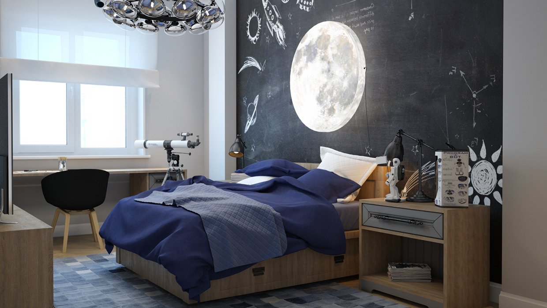 غرفة نوم أولاد مميزة 1 5 أفكار رائعة لغرف نوم صبيان مليئة بالمغامرة والخيال