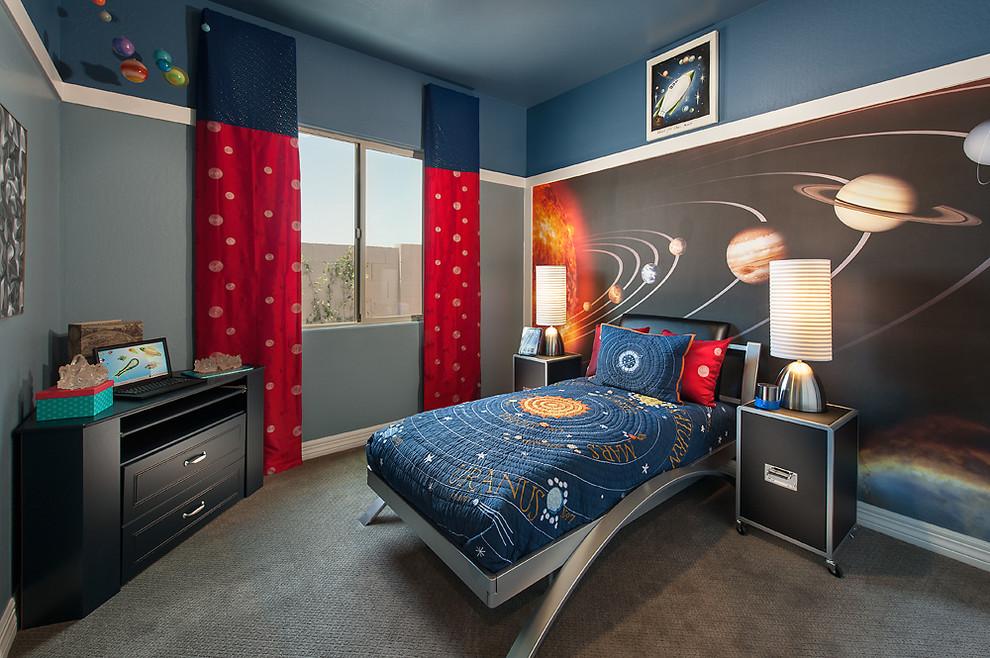 غرفة نوم أولاد مميزة 2 5 أفكار رائعة لغرف نوم صبيان مليئة بالمغامرة والخيال