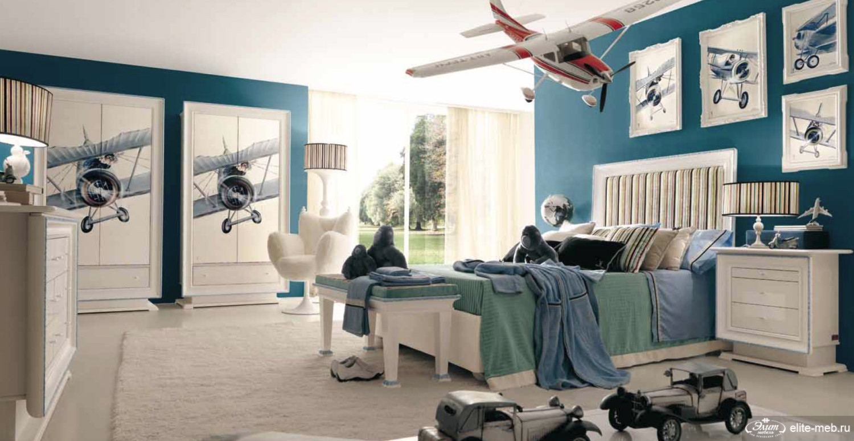 غرفة نوم أولاد مميزة 5 1500x773 5 أفكار رائعة لغرف نوم صبيان مليئة بالمغامرة والخيال