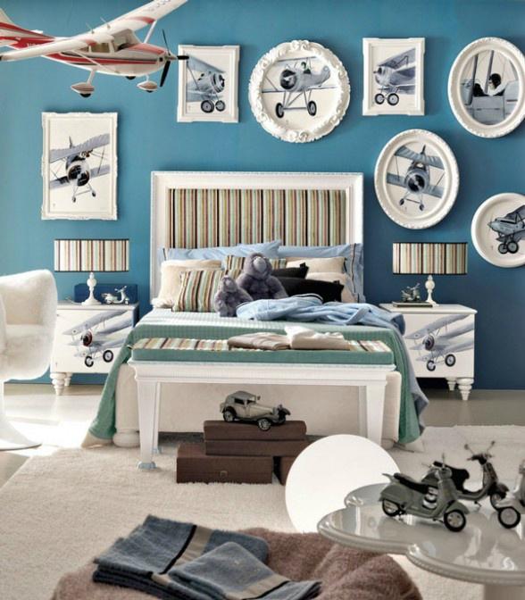 غرفة نوم أولاد مميزة 6 5 أفكار رائعة لغرف نوم صبيان مليئة بالمغامرة والخيال