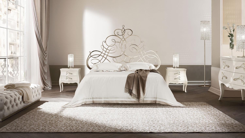 غرفة نوم إيطالية رائعة 2 1500x844 غرف نوم إيطالية تجمع الرومانسية والابتكار في جمال خيالي