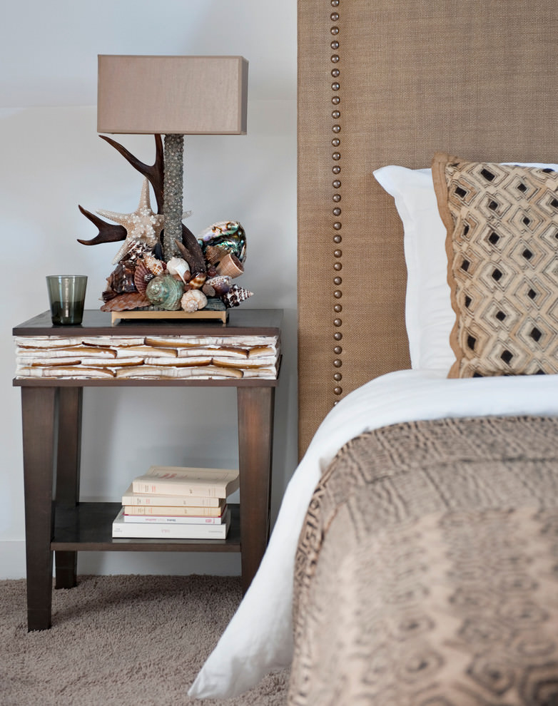 غرفة نوم بديكورات طبيعية ا منزل متميز بديكورات مستوحاة من الطبيعة وأعماق البحار