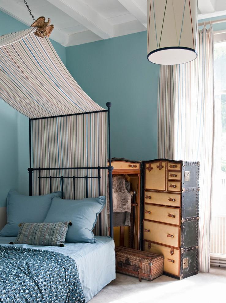 غرفة نوم بديكورات مبتكرة منزل متميز بديكورات مستوحاة من الطبيعة وأعماق البحار