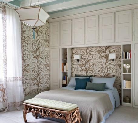 غرفة نوم بديكورات من الطبيعة 1