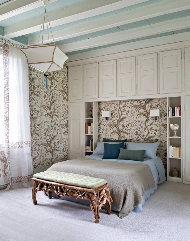 غرفة نوم بديكورات من الطبيعة 1 منزل متميز بديكورات مستوحاة من الطبيعة وأعماق البحار