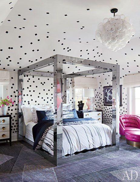 غرفة نوم بناتي 1 أجمل تصميمات مهندسة الديكور كيليويرستلر (Kelly Wrestler)