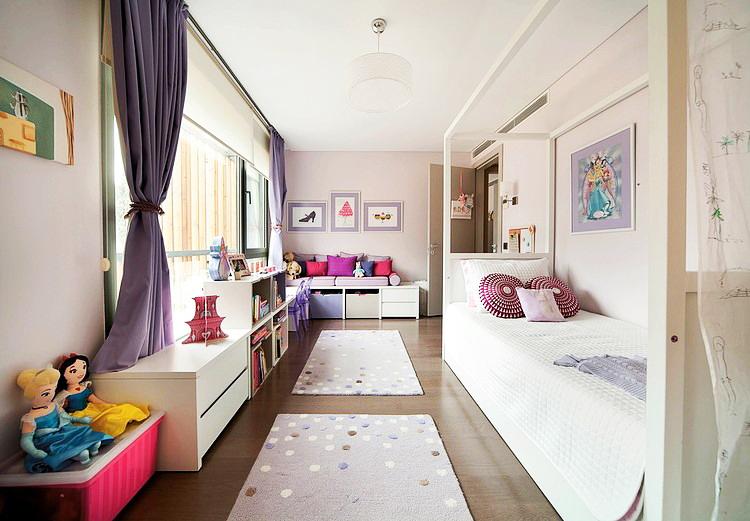 غرفة نوم بناتي   مجلة ديكورات   عالم من ديكور المنازل و التصميم