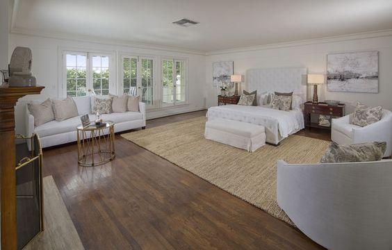 غرفة نوم بيضاء غرفة نوم بيضاء