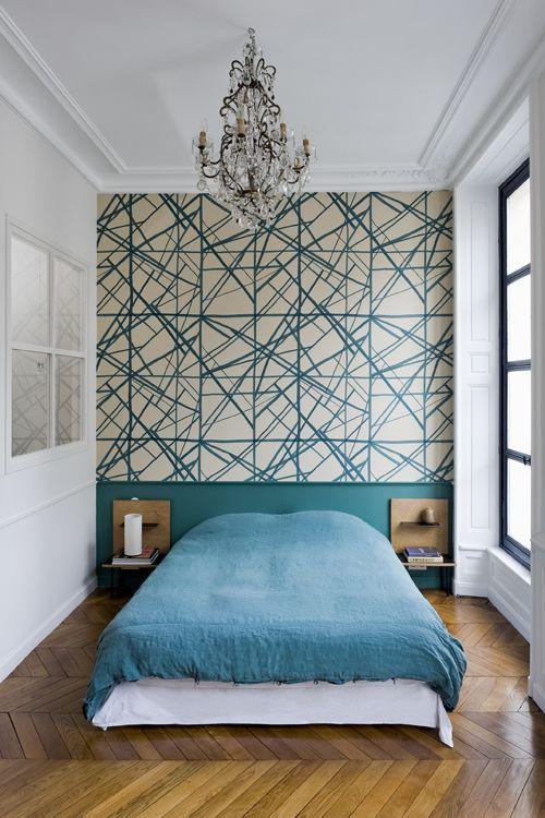 غرفة نوم صغيرة 1 أجمل تصميمات مهندسة الديكور كيليويرستلر (Kelly Wrestler)