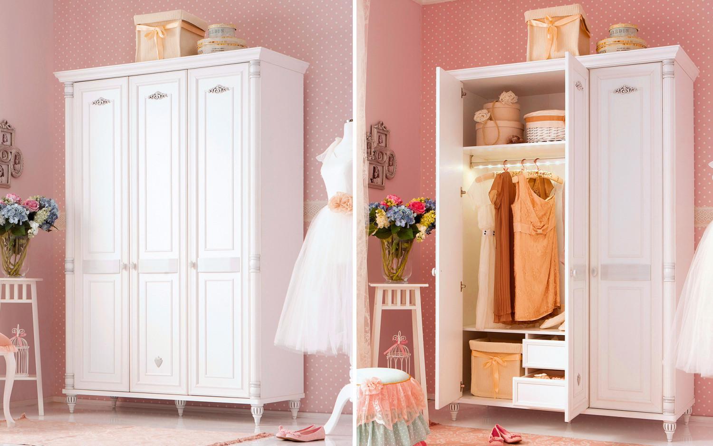غرفة نوم فتيات رومانسية 1ا 1500x938 الأناقة والرومانسية في غرف نوم فتيات رائعة الجمال