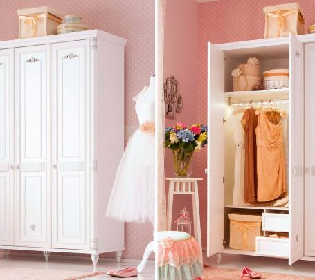 غرفة نوم فتيات رومانسية 1ا