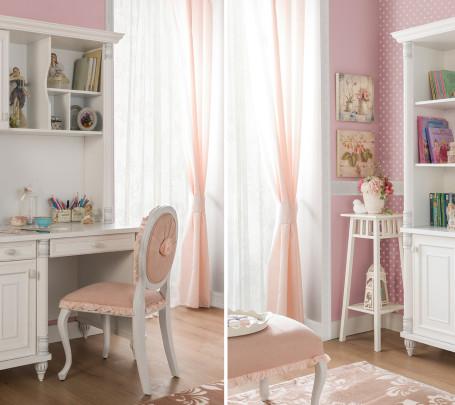 غرفة نوم فتيات رومانسية 2ب