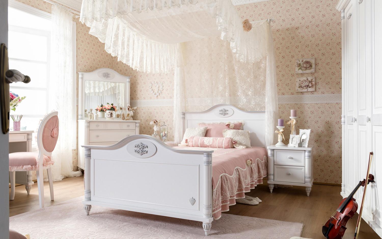 غرفة نوم فتيات رومانسية 4 1500x938 غرفة نوم فتيات رومانسية 4