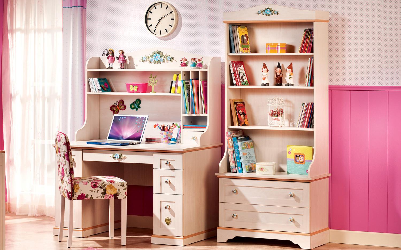 غرفة نوم فتيات رومانسية 6ا 1500x938 الأناقة والرومانسية في غرف نوم فتيات رائعة الجمال