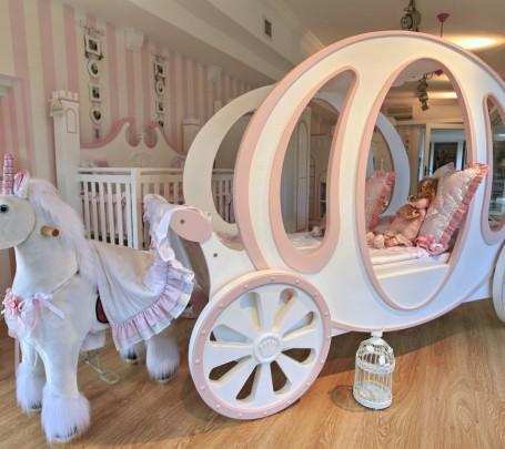 غرف نوم اطفال خيالية لأميرتك الصغيرة