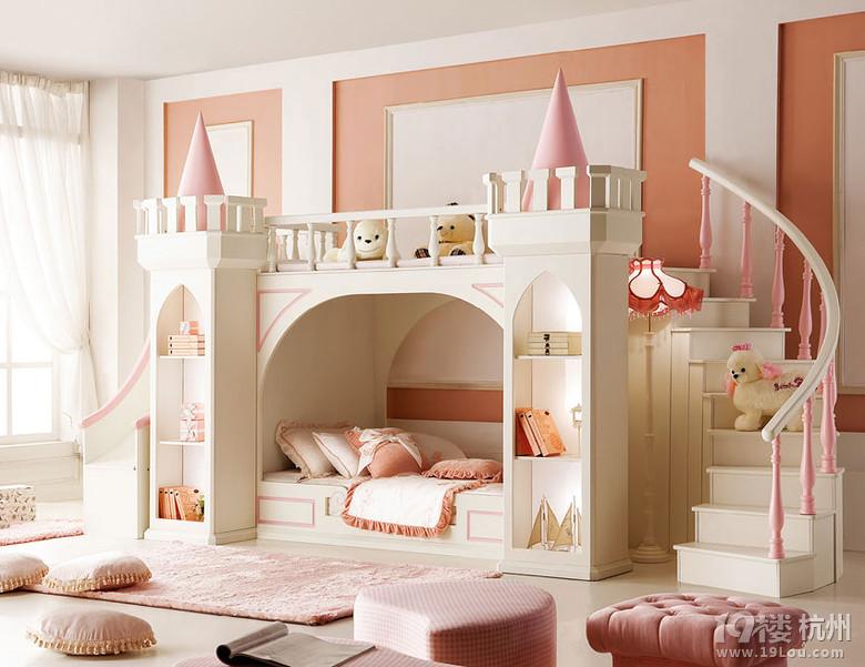غرفة نوم فتيات 4   مجلة ديكورات   عالم من ديكور المنازل و التصميم
