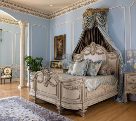 غرفة نوم كلاسيكية فخمة 1