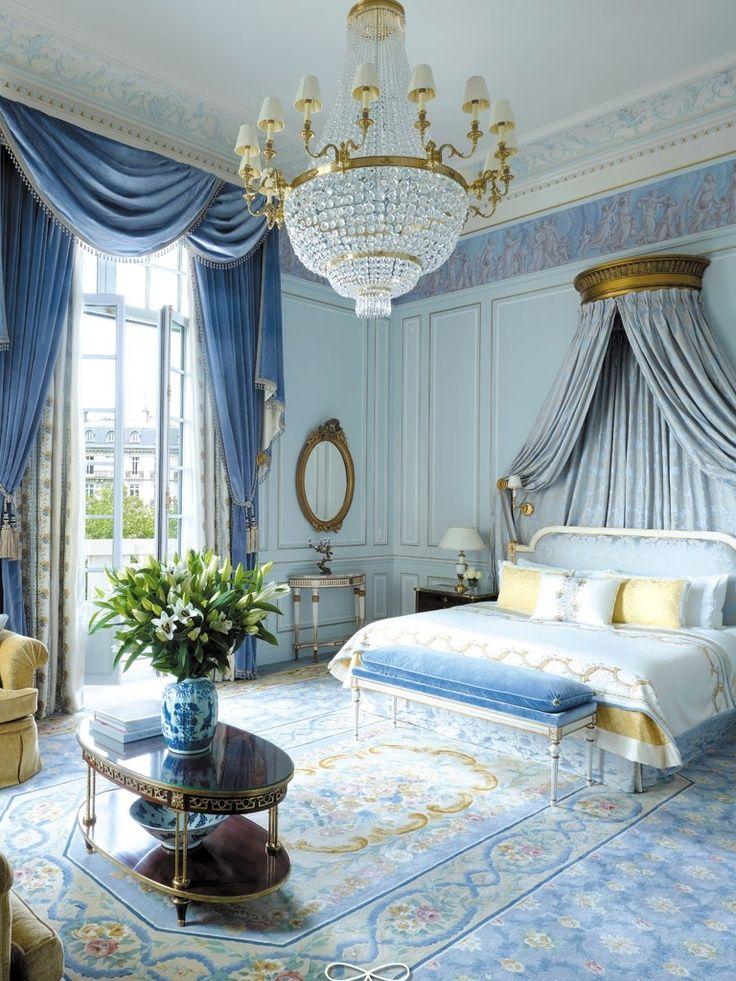 غرفة نوم كلاسيكية فخمة 2 تصميمات غرف نوم مبهرة تليق بالقصور