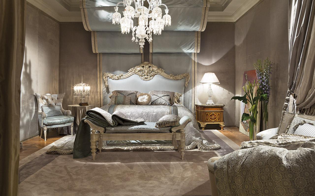 غرفة نوم كلاسيكية فخمة 5 تصميمات غرف نوم مبهرة تليق بالقصور