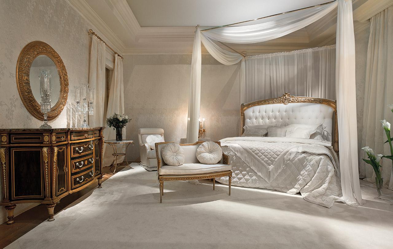 غرفة نوم كلاسيكية فخمة 8 تصميمات غرف نوم مبهرة تليق بالقصور