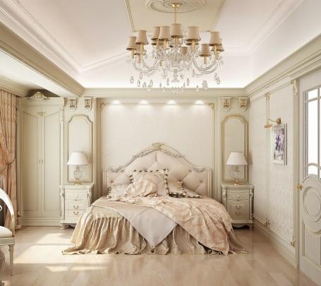 تصميمات غرف نوم مبهرة تليق بالقصور