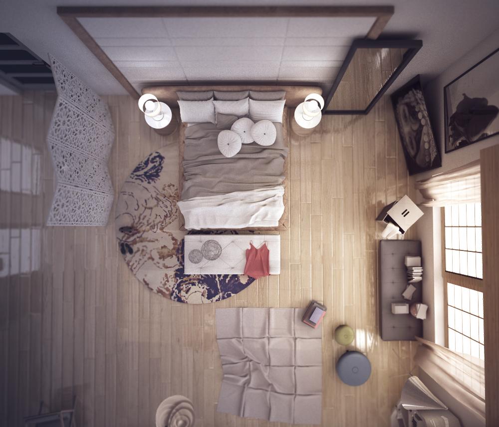 غرفة نوم مودرن بديكورات عربية 10ا 10 غرف نوم مودرن بلمسات مبهرة من التراث العربي