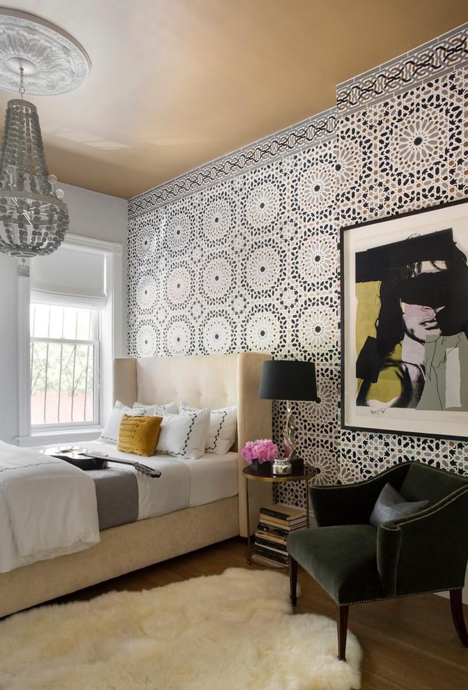 غرفة نوم مودرن بديكورات عربية 9ا 10 غرف نوم مودرن بلمسات مبهرة من التراث العربي