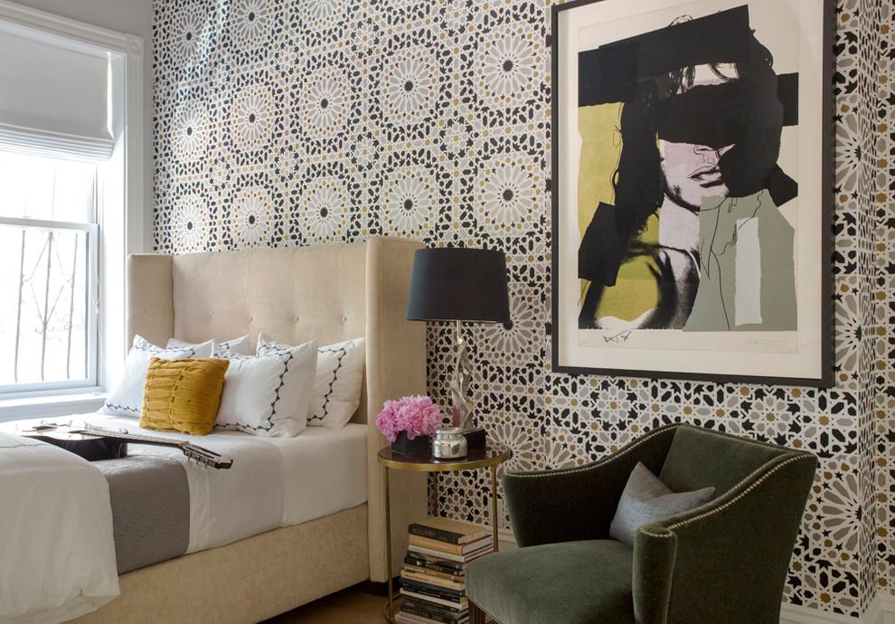 غرفة نوم مودرن بديكورات عربية 9 10 غرف نوم مودرن بلمسات مبهرة من التراث العربي