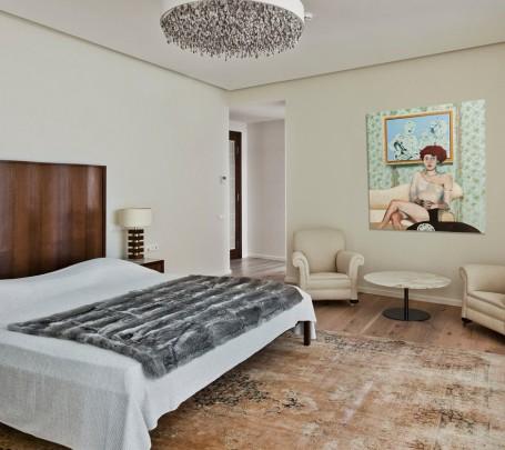 غرفة نوم مودرن 1