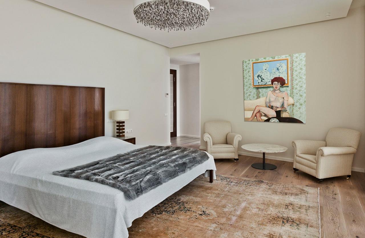 غرفة نوم مودرن 11 العصرية والفخامة في تصميم منزل متميز جدًا