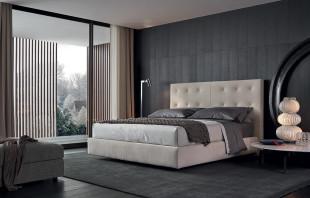 أناقة الرمادي في تصميمات غرف نوم مودرن راقية