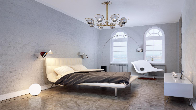 غرفة نوم مودرن 31 1500x844 البساطة والجمال في تصميمات سرير حديثة وغرف نوم مودرن متميزة