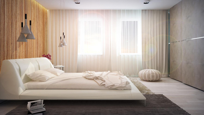 غرفة نوم مودرن 4ا 1500x844 البساطة والجمال في تصميمات سرير حديثة وغرف نوم مودرن متميزة