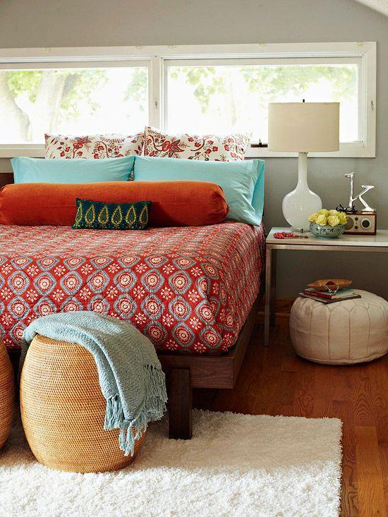 غرفة نوم 10 تصاميم غرف نوم على الطراز الهندي