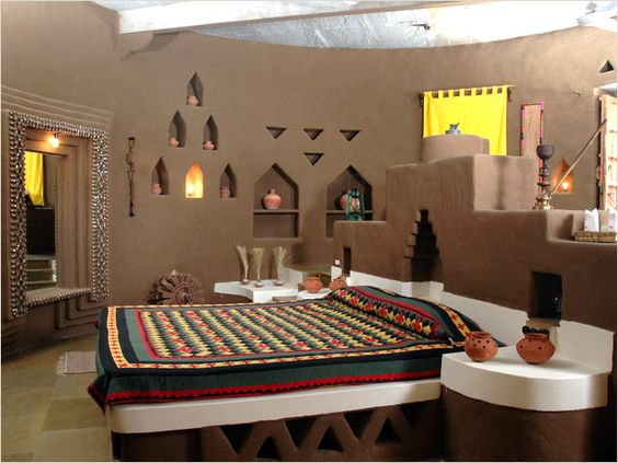 غرفة نوم 12 تصاميم غرف نوم على الطراز الهندي