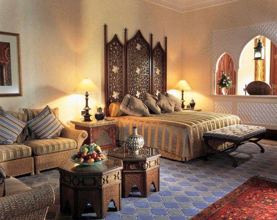 غرفة نوم 13 تصاميم غرف نوم على الطراز الهندي