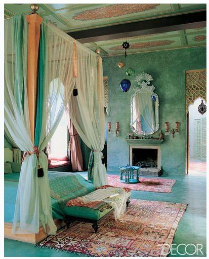 غرفة نوم 15 تصاميم غرف نوم على الطراز الهندي