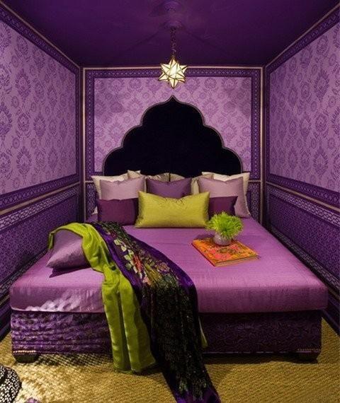 غرفة نوم 19 ديكورات عربية في غاية الفخامة لمنزلك