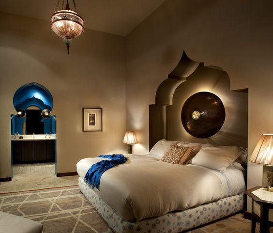 غرفة نوم 2 3 ديكورات عربية في غاية الفخامة لمنزلك