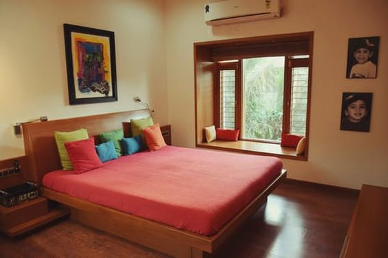 غرفة نوم 3 1 تصاميم غرف نوم على الطراز الهندي