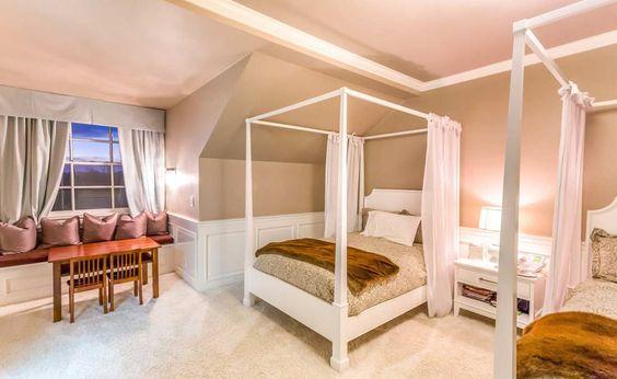 غرفة نوم 3 4 شاهدي أناقة منزل النجمة جينيفر لوبيز (Jennifer Lopez)