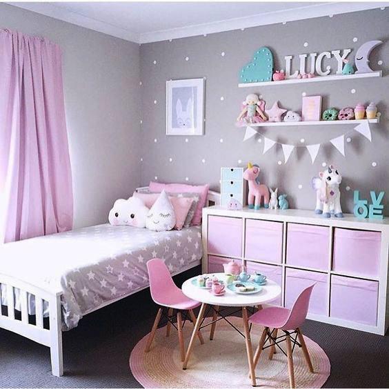 غرفة نوم 3 غرف نوم مميزة جداً لأميرتك الصغيرة