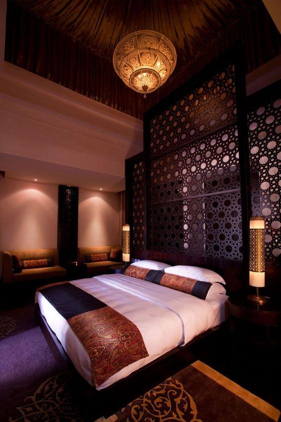 غرفة نوم 5 2 ديكورات عربية في غاية الفخامة لمنزلك