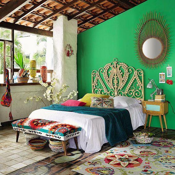 غرفة نوم 6 تصاميم غرف نوم على الطراز الهندي