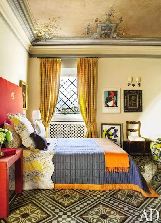 غرفة نوم 8 تصاميم غرف نوم على الطراز الهندي