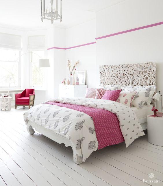 غرفة نوم 9 تصاميم غرف نوم على الطراز الهندي